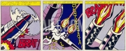Lichtenstein, Roy - As I opened Fire (Triptychon)