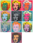Warhols Sunday B.Morning Edition - Marilyn Kopf - Set of 10