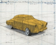 Christo - Wrapped Automobile, Project for Studebaker